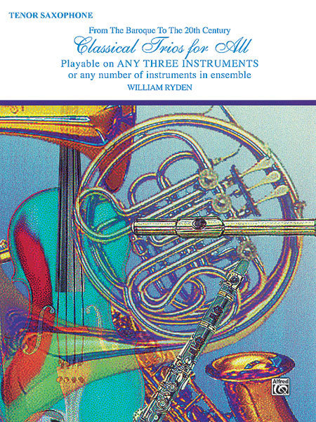 View larger image of Classical Trios for All - Tenor Sax
