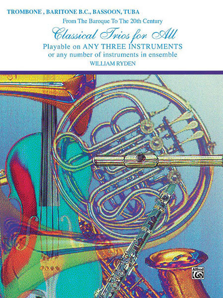 View larger image of Classical Trios for All - Trombone / Baritone B.C / Bassoon / Tuba