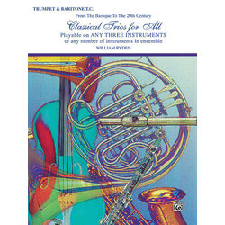 Classical Trios for All - Trumpet