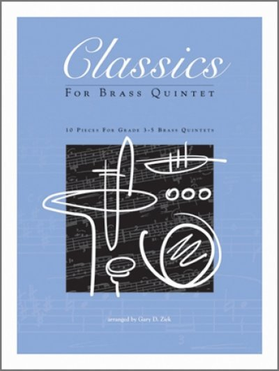 View larger image of Classics For Brass Quintet - Full Score