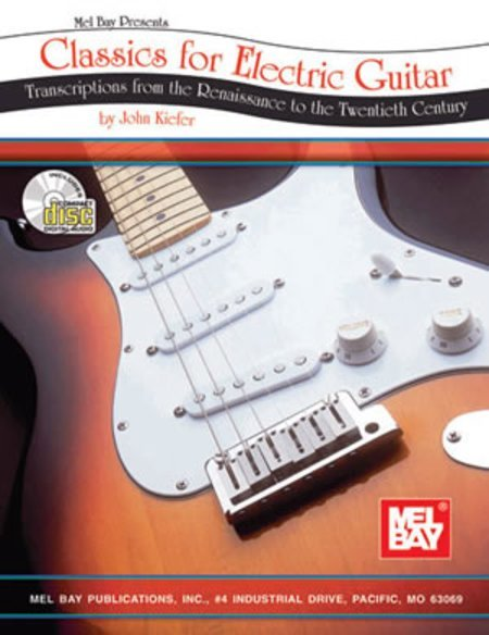 View larger image of Classics for Electric Guitar w/CD
