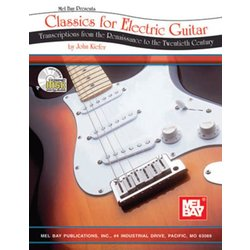Classics for Electric Guitar w/CD