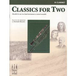 Classics for Two - Clarinet