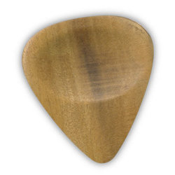 Clayton Exotic Blonde Wood Guitar Picks - 3 Pack