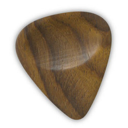 Clayton Exotic Dark Wood Guitar Picks - 3 Pack