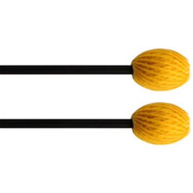 View larger image of Clevelander CCM1 Concert Series Marimba Mallets - Soft, Yellow