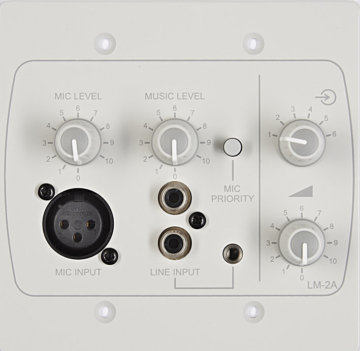 View larger image of Cloud LM-2AW Line/Mic/Remote Mixer Module