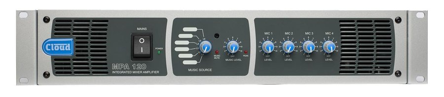 View larger image of Cloud MPA120 120W Mixer/Amplifier