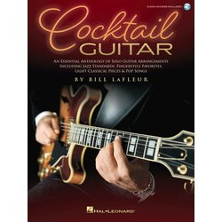 Cocktail Guitar - An Essential Anthology of Solo Guitar Arrangements w/Online Audio