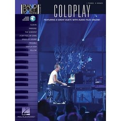 Coldplay - Piano Duet Play Along Vol.45 w/CD