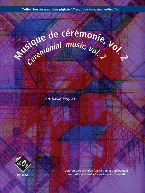 View larger image of Collection Du Musicien Pigiste, Musique De Ceremonie, Vol.2 - Guitar & Violin