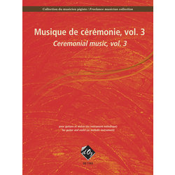 Collection Du Musicien Pigiste, Musique De Ceremonie, Vol.3 - Guitar & Violin