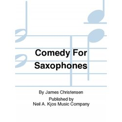 Comedy for Saxophones - Saxophone Quartet, (AATB)