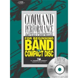 Command Performance Book - Clarinet