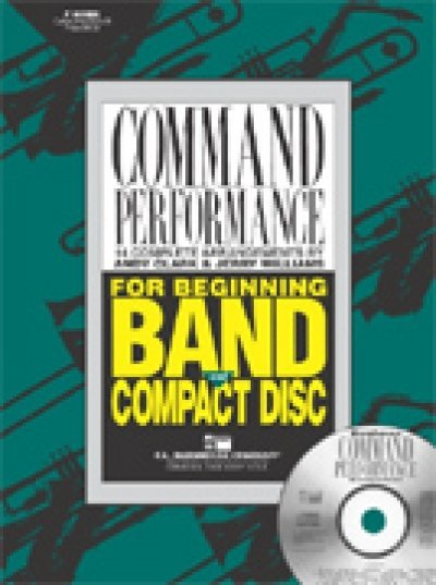 View larger image of Command Performance Book - Tenor Sax/Baritone TC/Bass Clarinet