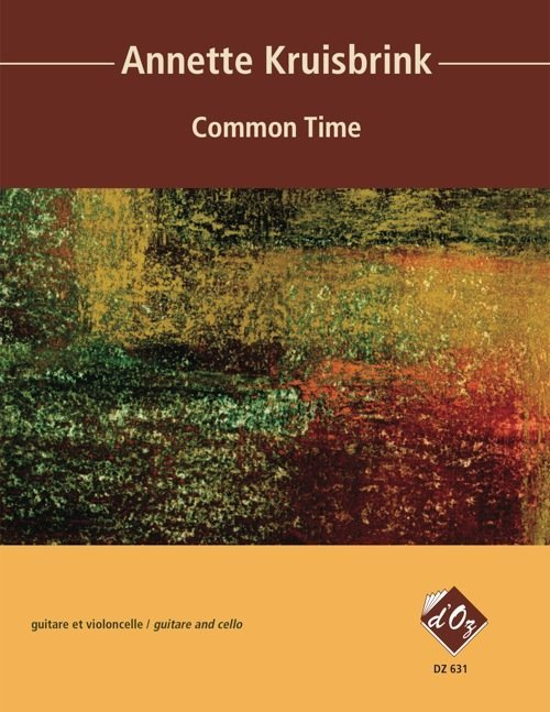 View larger image of Common Time (Kruisbrink) - Guitar & Cello Duet