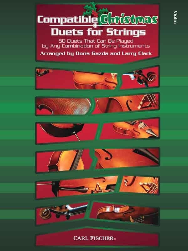 View larger image of Compatible Christmas Duets for Strings - Violin