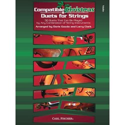 Compatible Christmas Duets for Strings - Violin