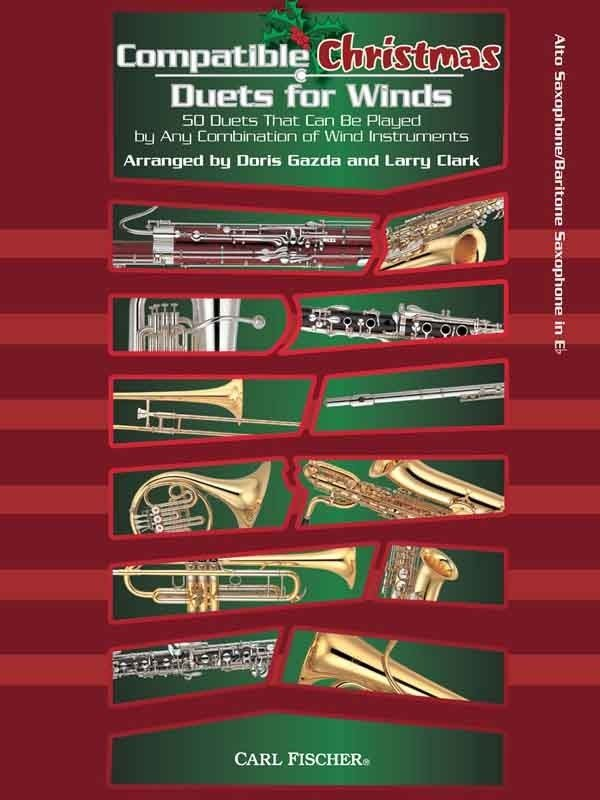 View larger image of Compatible Christmas Duets for Winds - Alto Saxophone