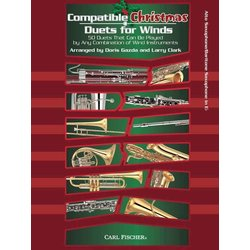 Compatible Christmas Duets for Winds - Alto Saxophone