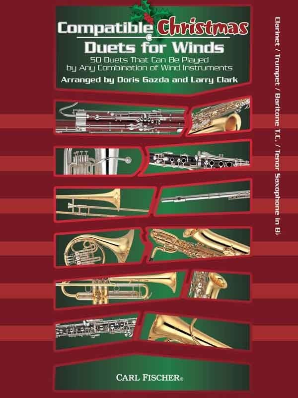 View larger image of Compatible Christmas Duets for Winds - Clarinet