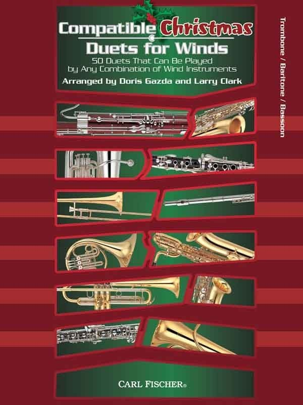 View larger image of Compatible Christmas Duets for Winds - Trombone