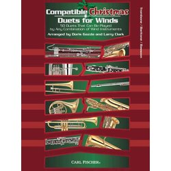 Compatible Christmas Duets for Winds - Trombone