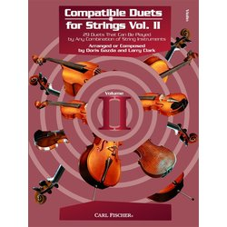 Compatible Duets for Strings Vol. 2 - Violin