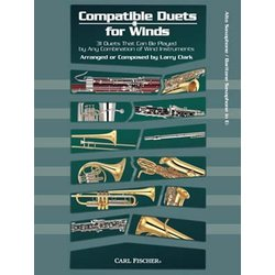 Compatible Duets for Winds - Alto Sax (Eb Inst)
