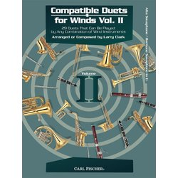 Compatible Duets for Winds Vol.2 - Alto Sax / Bari Sax