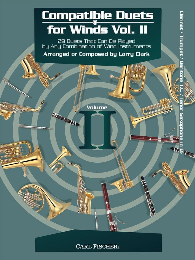 View larger image of Compatible Duets for Winds Vol.2 - Clarinet/Trumpet
