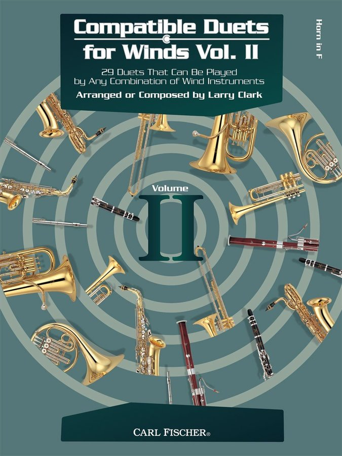 View larger image of Compatible Duets for Winds Vol.2 - F Horn