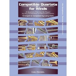 Compatible Quartets for Winds - Alto Sax