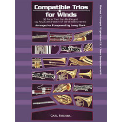 Compatible Trios for Winds - Clarinet/Trumpet/Tenor Sax