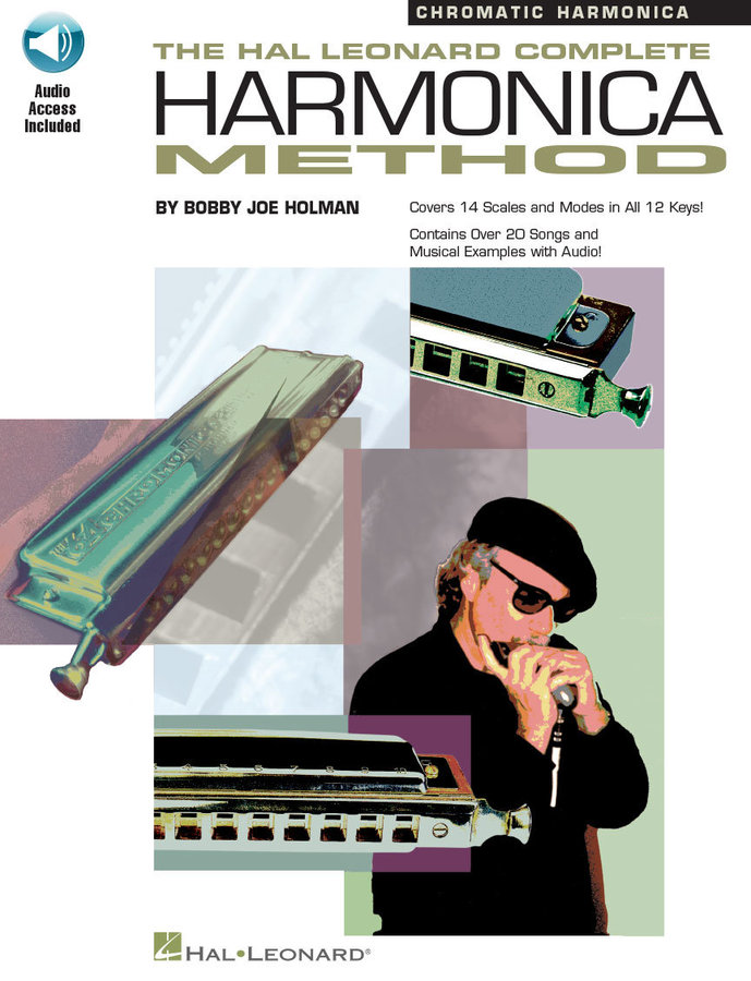 View larger image of Complete Harmonica Method - Chromatic w/Online Audio