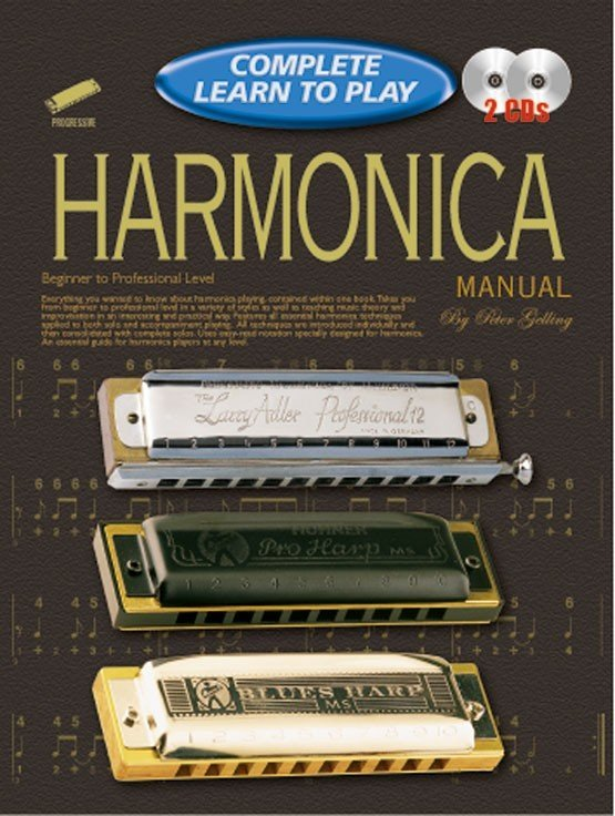View larger image of Complete Learn to Play Harmonica w/CD