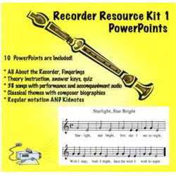 Complete Recorder Resource Kit Book 1 - Digital Resources