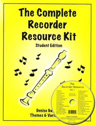 View larger image of Complete Recorder Resource Kit Book 1 - Student (Book & CD)