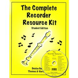 Complete Recorder Resource Kit Book 1 - Student (Book & CD)