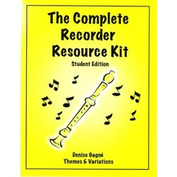 Complete Recorder Resource Kit Book 1 - Student Book