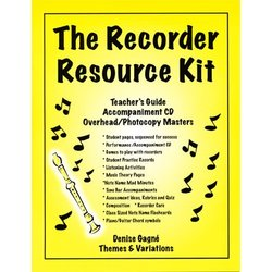 Complete Recorder Resource Kit Book 1 - Teacher's Guide with PowerPoints