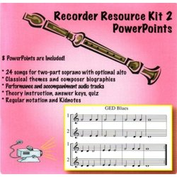 Complete Recorder Resource Kit Book 2 - PowerPoints