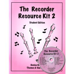 Complete Recorder Resource Kit Book 2 - Student (Book & CD)