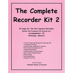Complete Recorder Resource Kit Book 2 - Teacher's Guide with PowerPoints