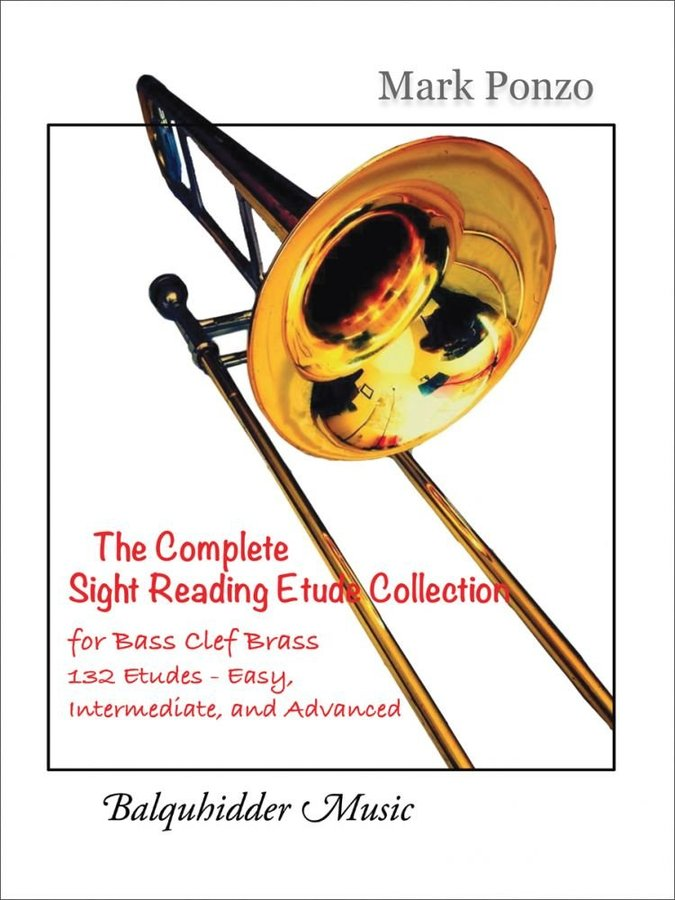 View larger image of Complete Sight Reading Etude Collection (Ponzo) - For Bass Clef Brass Instruments