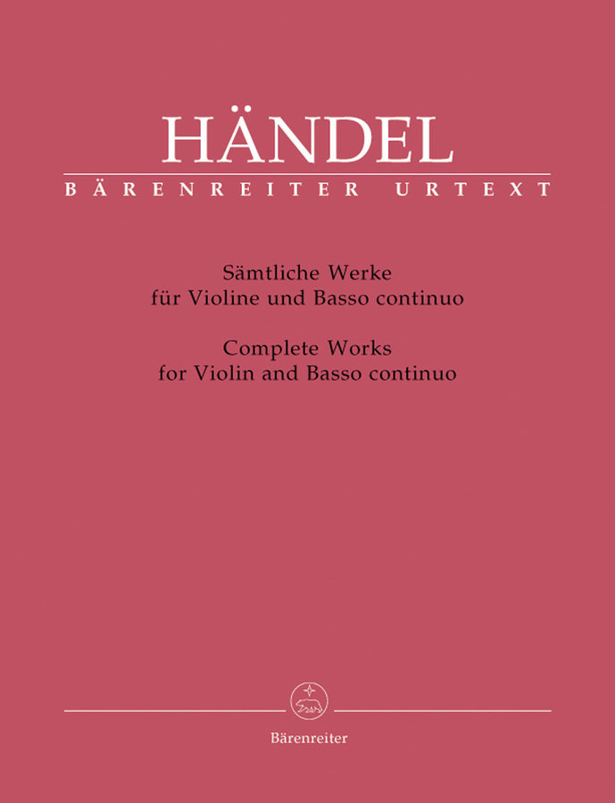 View larger image of Complete Works for Violin and Basso Continuo - (Handel)