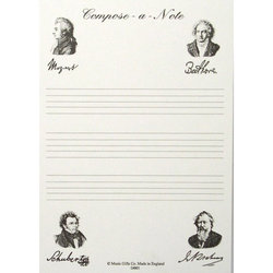 Compose A Note Notepad