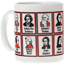 View larger image of Composer Faces Mug