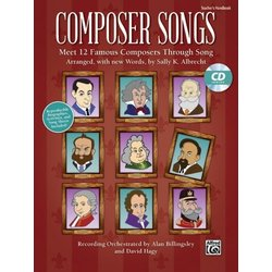 Composer Songs - Teacher Guide & CD-ROM