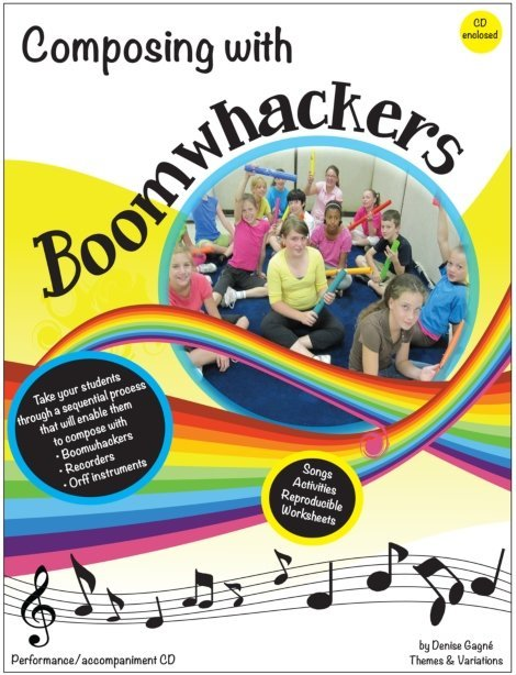 View larger image of Composing with Boomwhackers w/CD